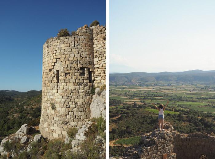 vacances Corbières 2016 - château cathare d'Aguilar