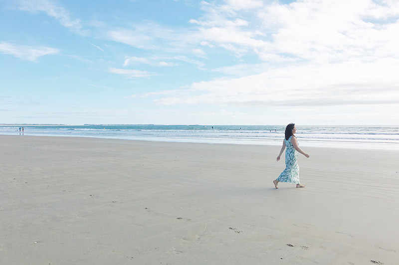La plage d'Erdeven en septembre (via wonderfulbreizh.fr)