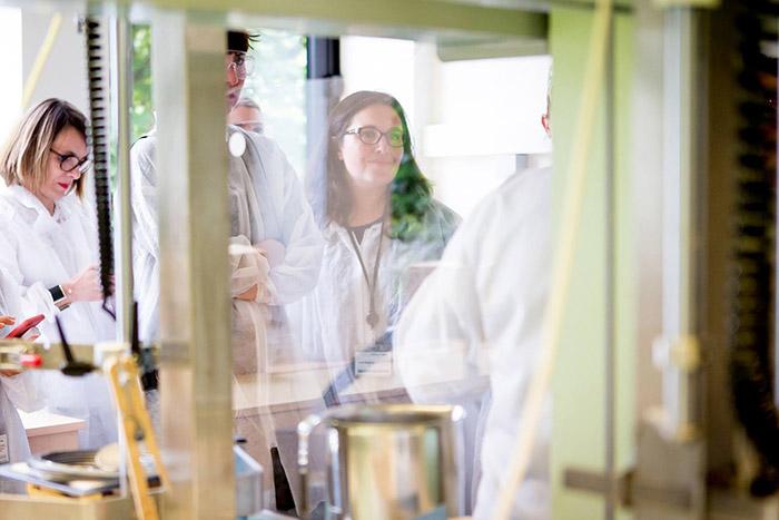 visite laboratoires La Roche Posay