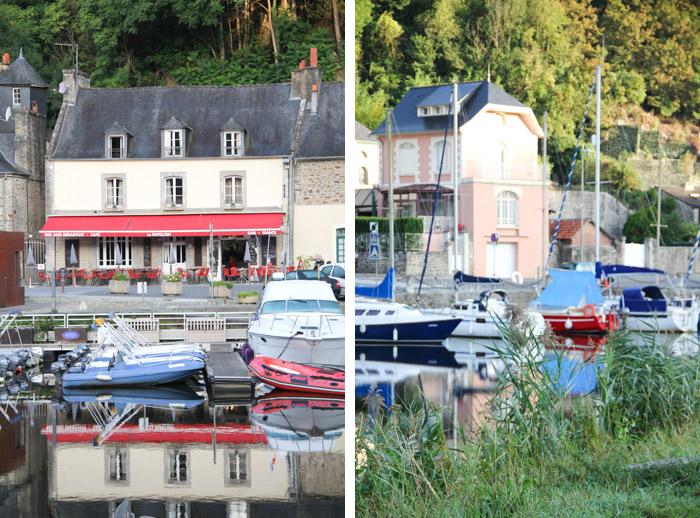 port de Dinan, Bretagne (via mercipourlechocolat.fr)
