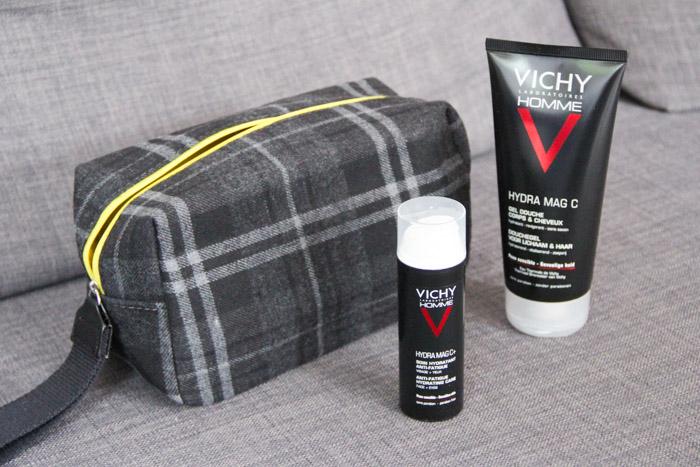 Vichy trousse toilette rituel énergie