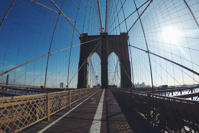 New York #DreamReal GoPro jour 3 - Brooklyn Bridge