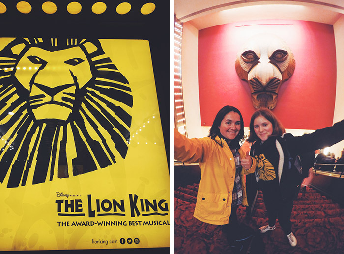 New York #dreamreal avec GoPro - jour 5 - The Lion King Broadway
