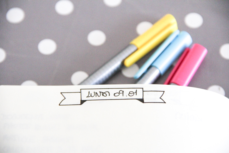 Organisation - bilan bullet journal (via mercipourlechocolat.fr)