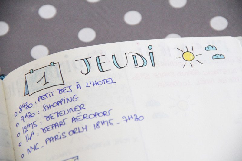 Organisation - bilan bullet journal (via wonderfulbreizh.fr)