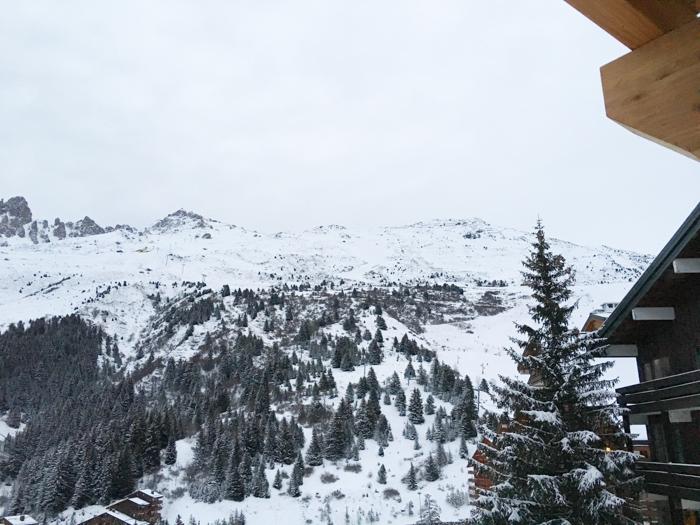 Vue hôtel Le Mottaret Méribel - MadameVacances