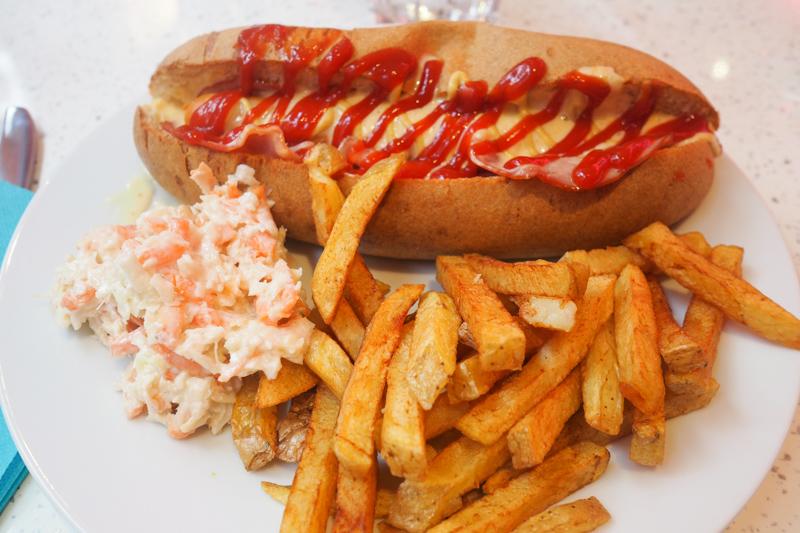 Virgin Breizh Diner, à Vannes - Bretagne (via mercipourlechocolat.fr)