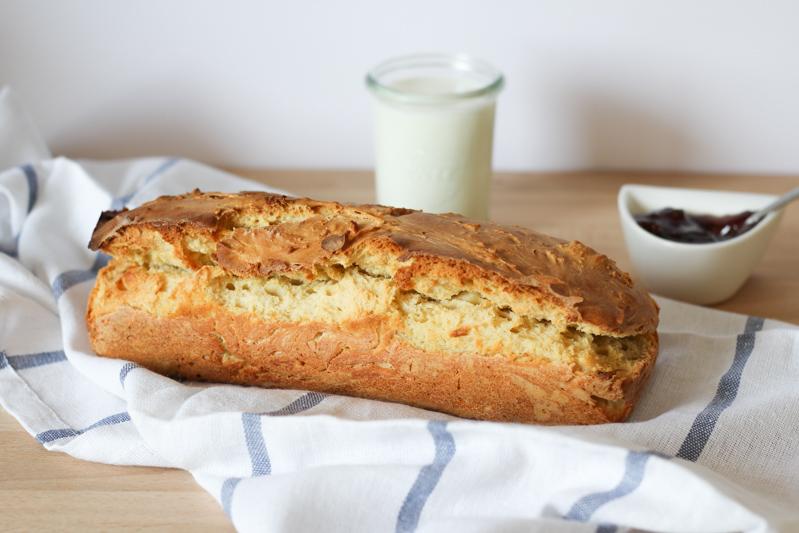 recette irish soda bread au lait ribot (via mercipourlechocolat.fr)