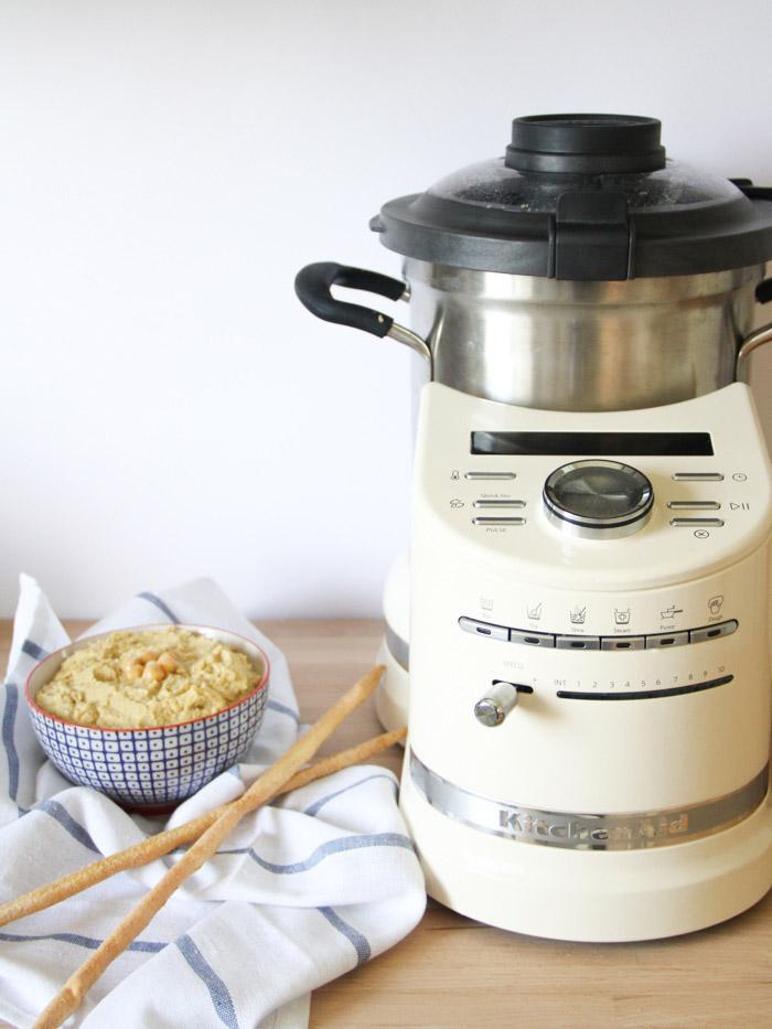 recette houmous maison (robot CookProcessor Kitchenaid)