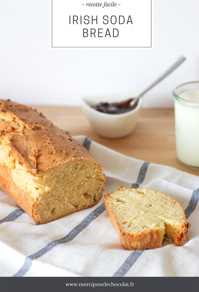Recette facile IRISH SODA BREAD au CookProcessor KitchenAid (via mercipourlechocolat.fr)