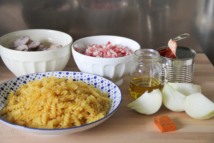 ONE POT PASTA - recette facile et super rapide au Cook Processor KitchenAid (via mercipourlechocolat.fr)