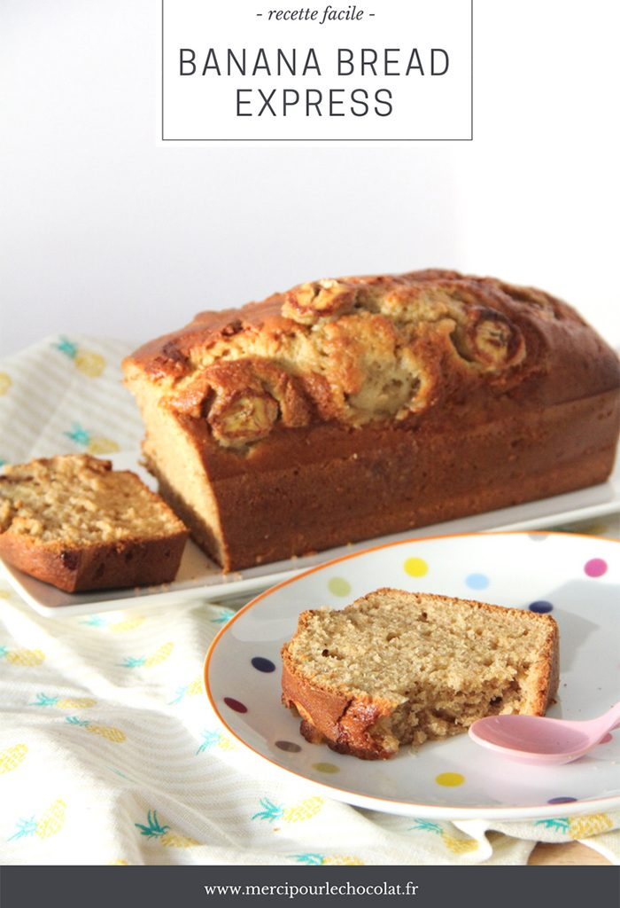 Recette BANANA BREAD express - facile avec le Cook Processor KitchenAid