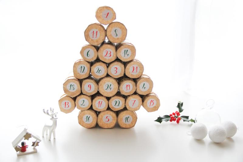 Calendrier De Lavant Maison.C Est Bientot Noel Calendriers De L Avent Faits Maison