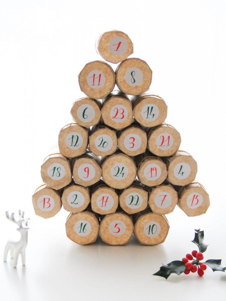 C Est Bientot Noel Calendriers De L Avent Faits Maison Merci Pour Le Chocolat