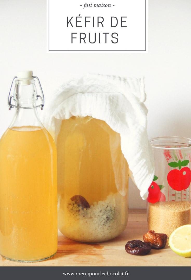 méthode et recette KÉFIR DE FRUITS - fait maison, facile et bio (via mercipourlechocolat.fr)