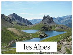 les alpes été et hiver