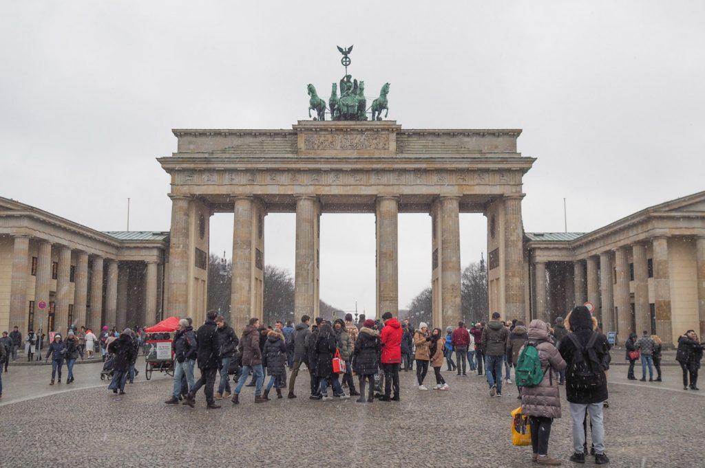 Berlin - Porte de Brandebourg / Brandenburger Tor