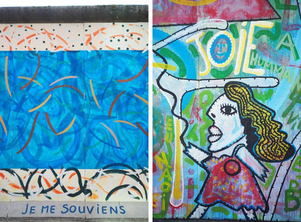 Berlin - Eastside Gallery - Die Mauer