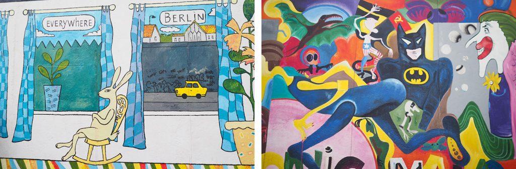 Berlin - Eastside Gallery - Die Mauer