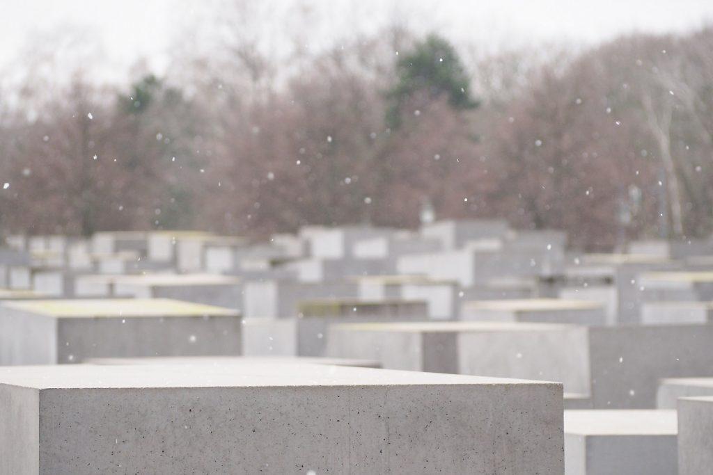 Berlin - mémorial holocauste