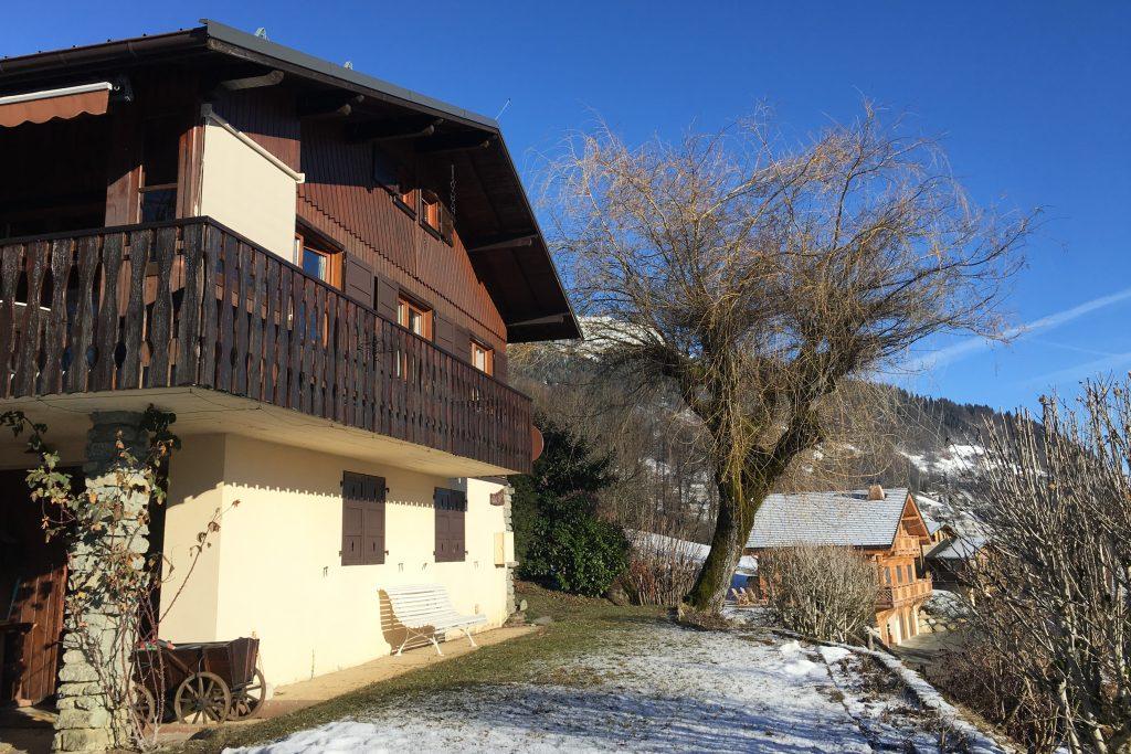 Cordon - balcon du Mont Blanc