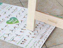 FeetUp Trainer Yoga inversion