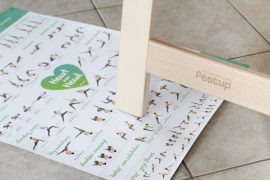 FeetUp Trainer Yoga inversion