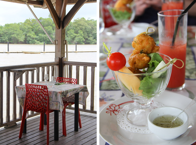 GUYANE - restaurant Grand Pavois à Macouria