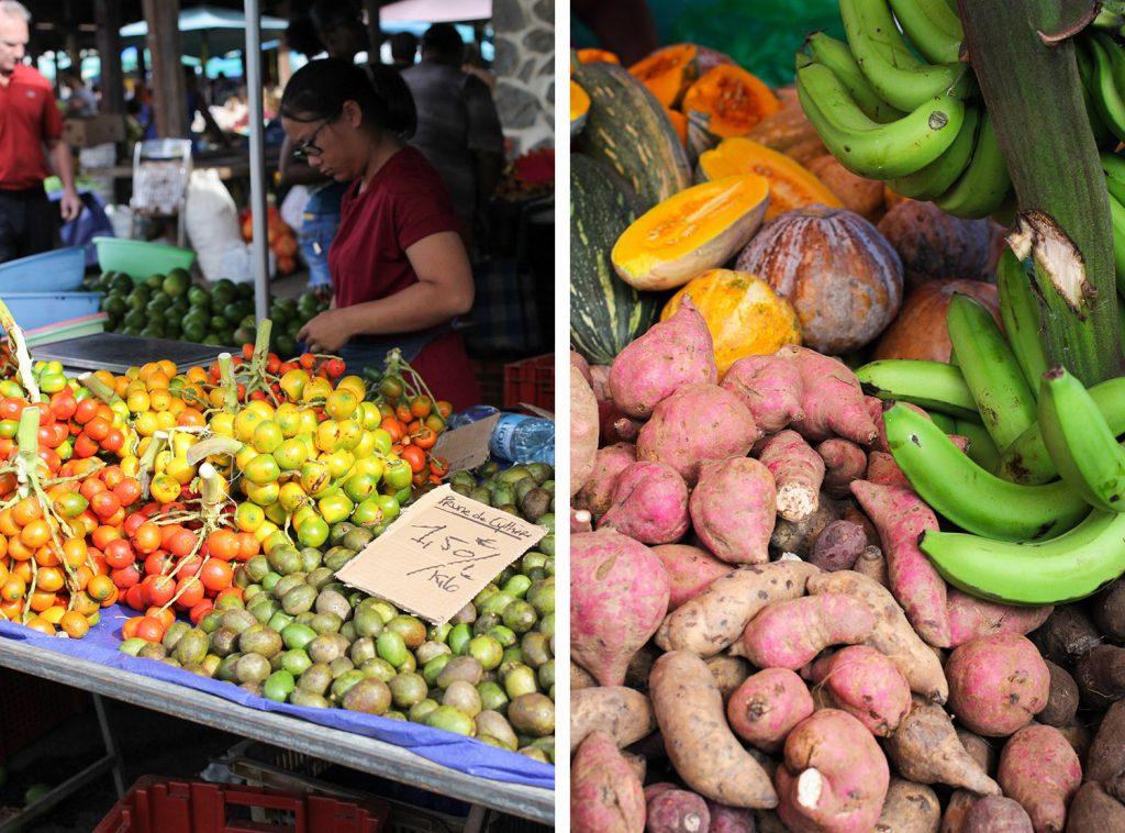 GUYANE - marché de Cayenne