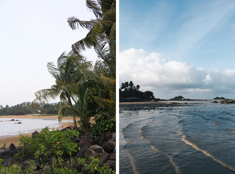 GUYANE - plage de Montabo