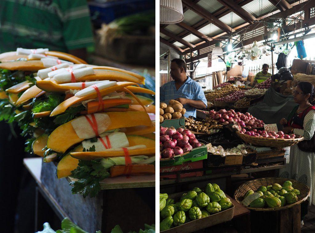 Port-Louis Mauritius - le marché