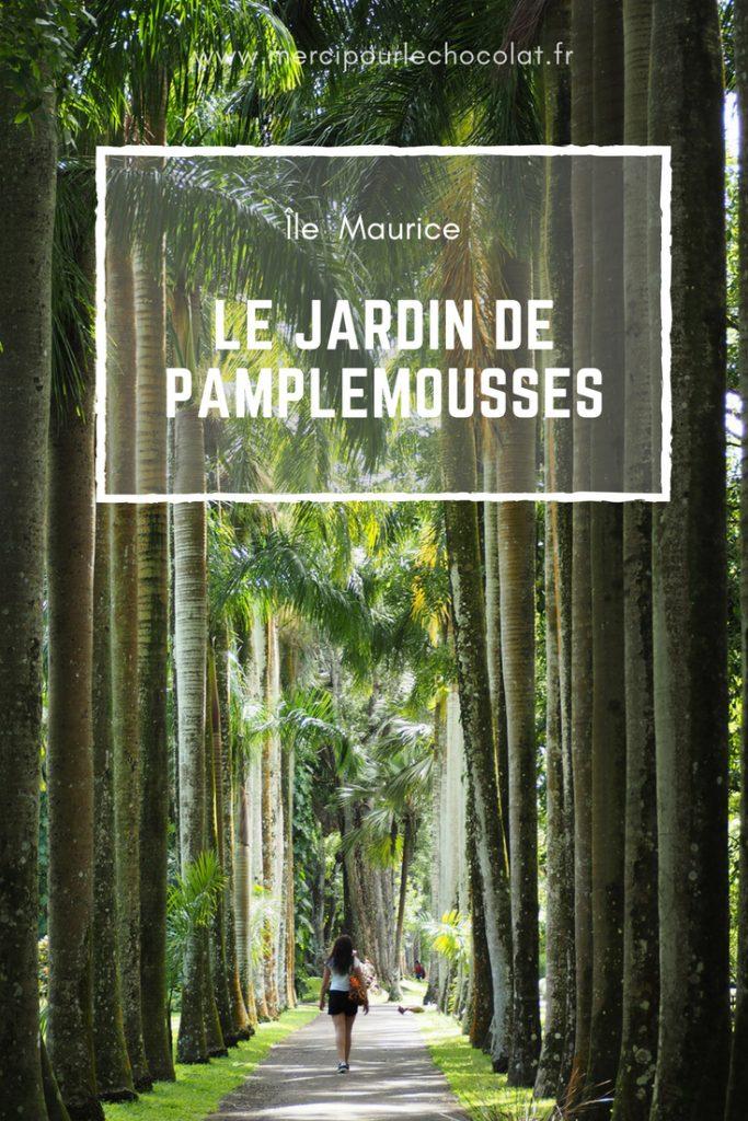 Île Maurice - Mauritius - jardin de Pamplemousses
