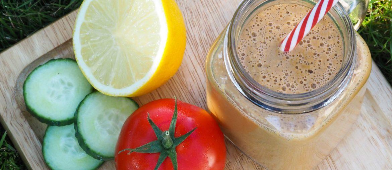 Gaspacho de tomates à la coriandre