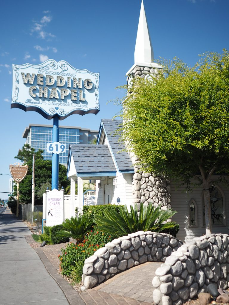 LAS VEGAS - Elvis wedding chapel