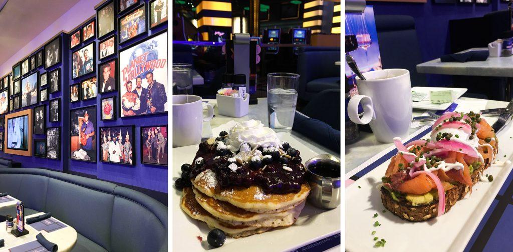 LAS VEGAS - Planet Hollywood breakfast