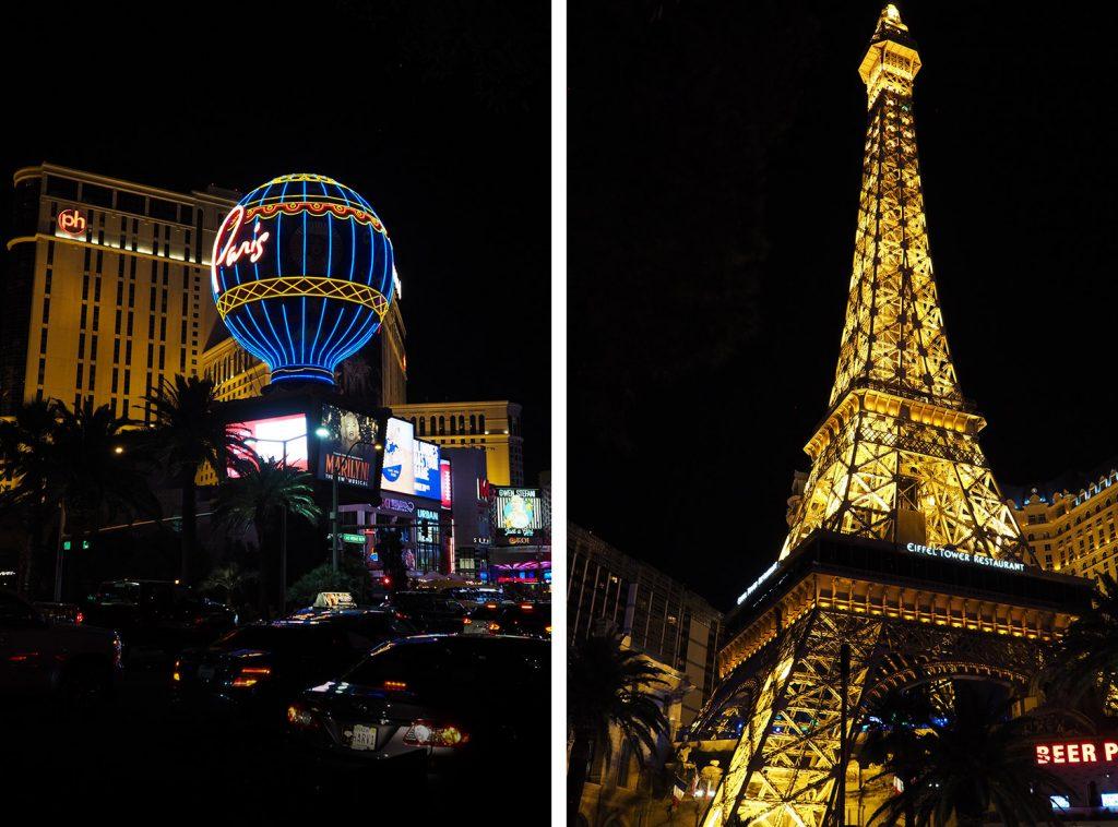 LAS VEGAS - The Strip by night