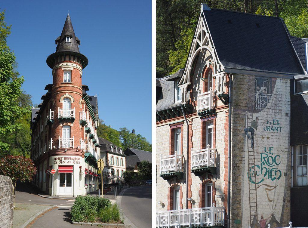 Bagnoles de l'Orne - Normandie - Le Roc au Chien
