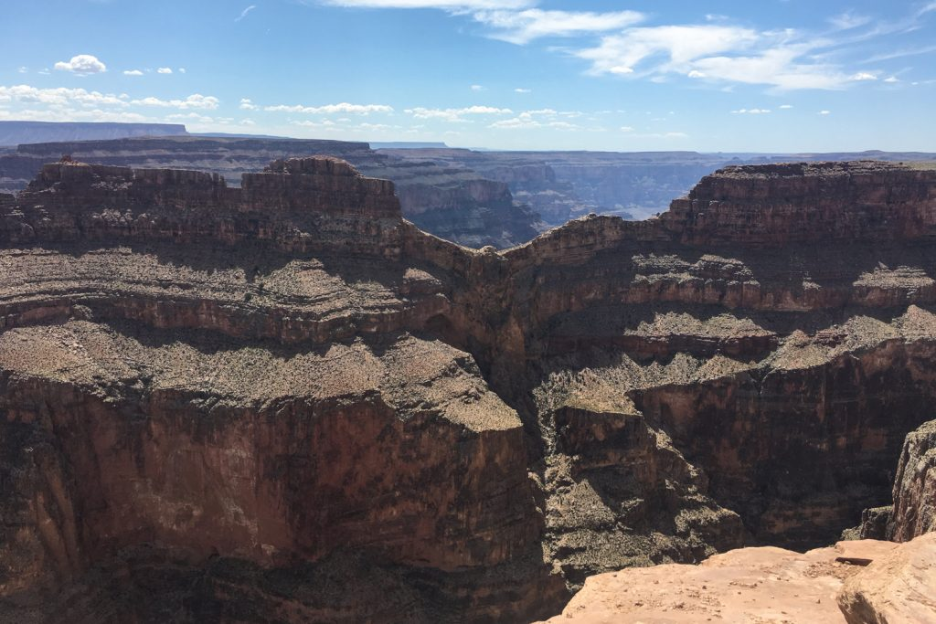 Survoler le Grand Canyon depuis Las Vegas en hélicoptère - eagle point