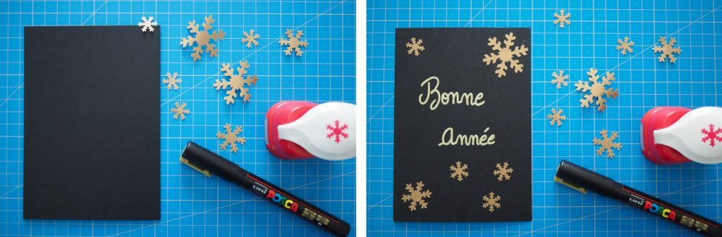 DIY - carte voeux noel flocons fait maison (via mercipourlechocolat.fr)