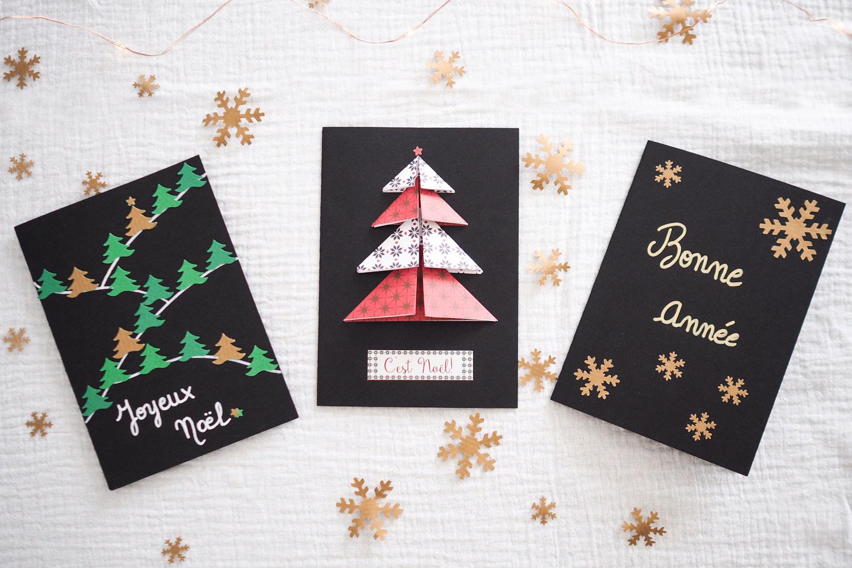 DIY – cartes de vœux de Noël fait main | Merci pour le chocolat !