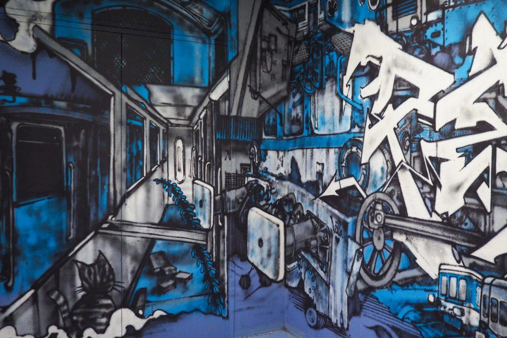 DEDALE vannes - street art