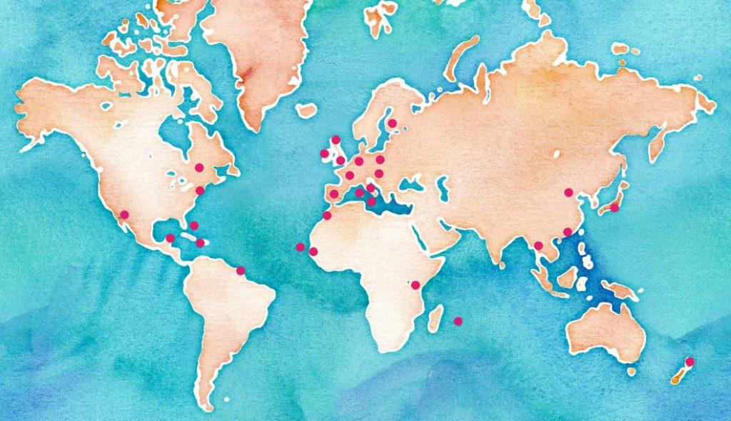 Mes voyages à travers le monde