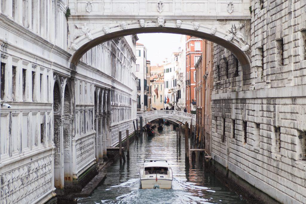 Venise - le pont des soupirs