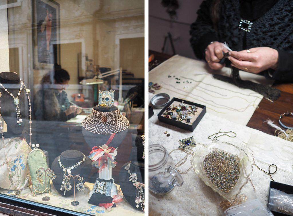Venise - le berle veneziane - perles Monica Burcovich