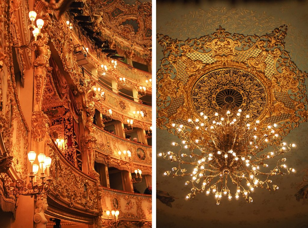 Venise - opéra la Fenice