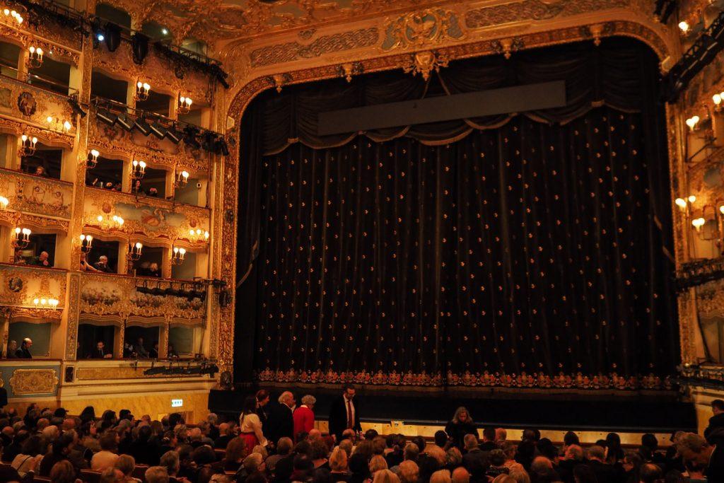Venise - La Traviata à la Fenice