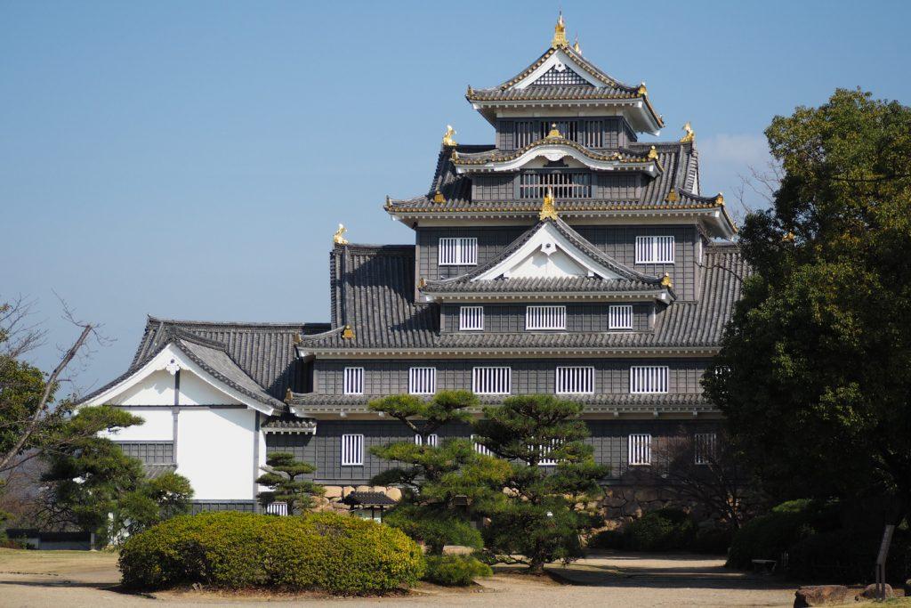 Le château noir d'Okayama - Japon