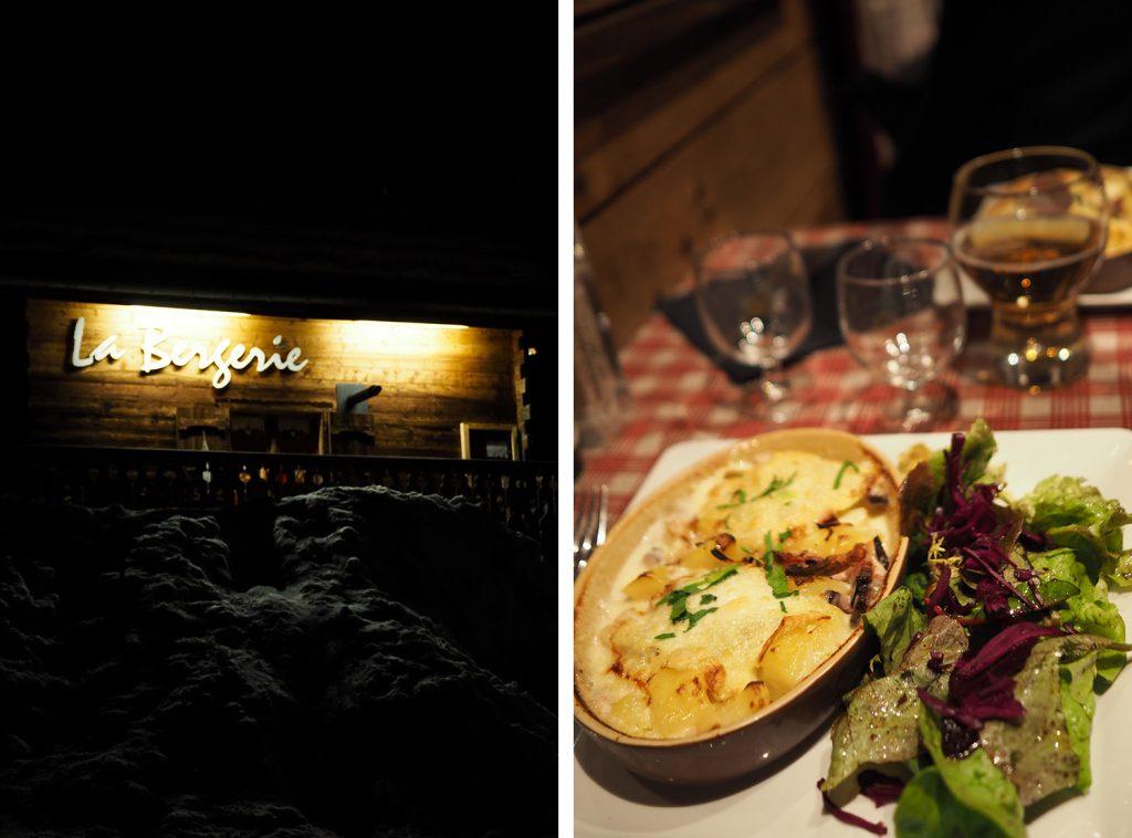 PASSY PLAINE JOUX - restaurant La Bergerie