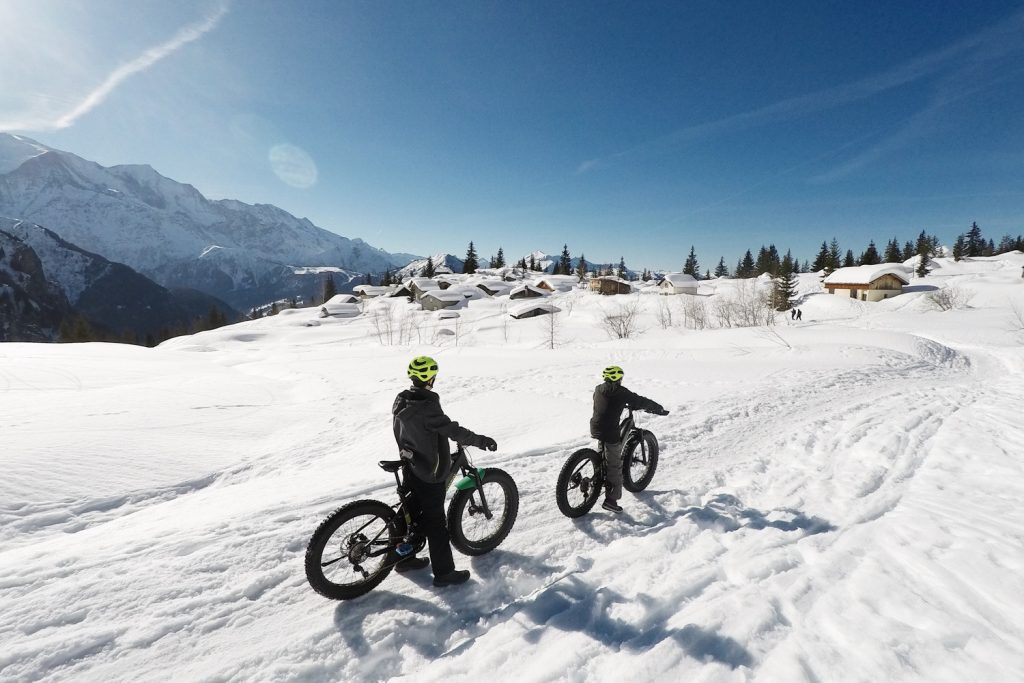 PASSY PLAINE JOUX - snowbike