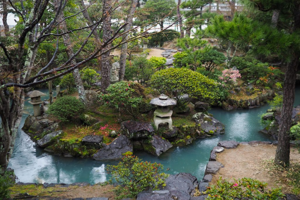 Kurashiki - jardin Shinkei-en (Okayama, Japon)